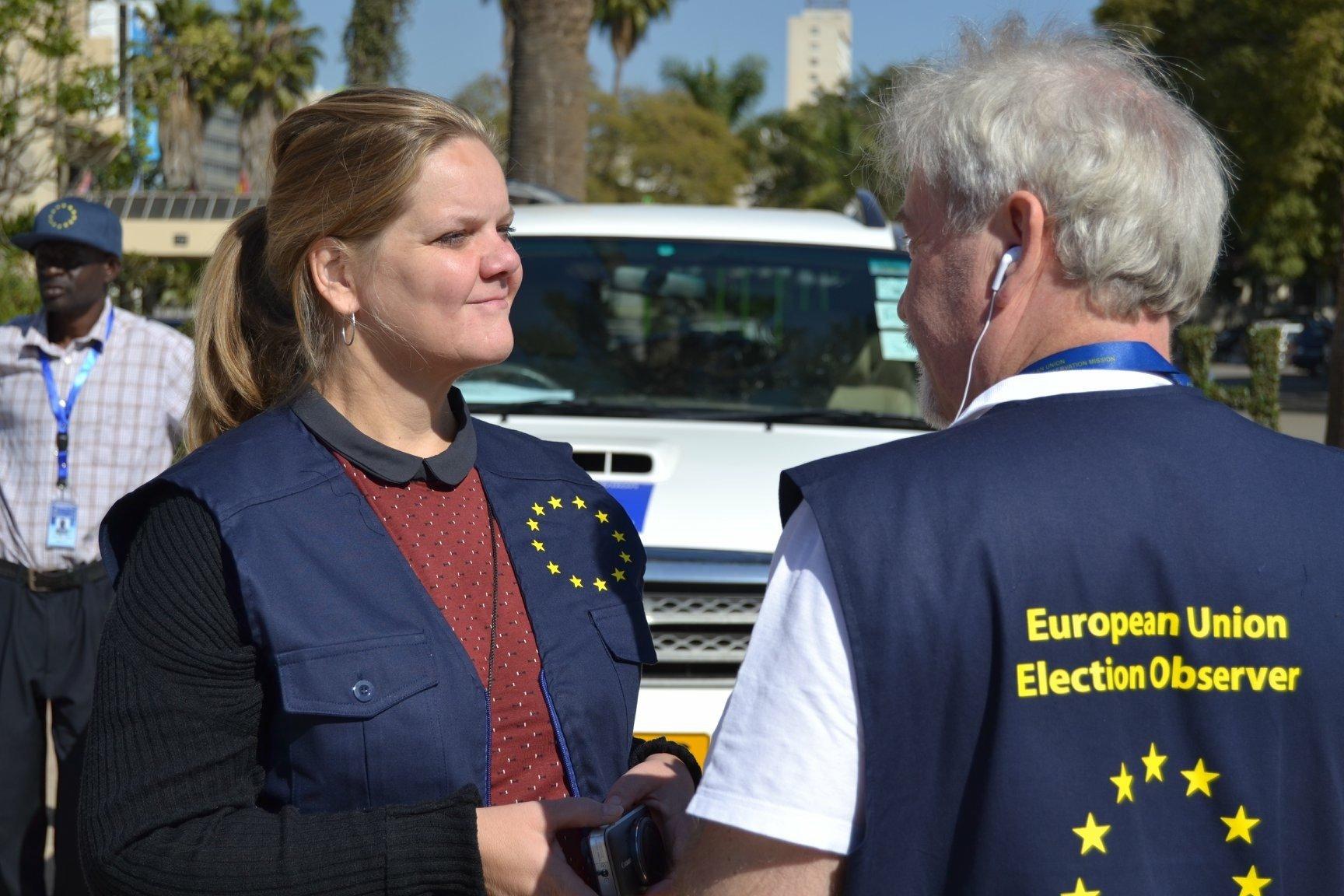 EU Election Observers Zimbabwe