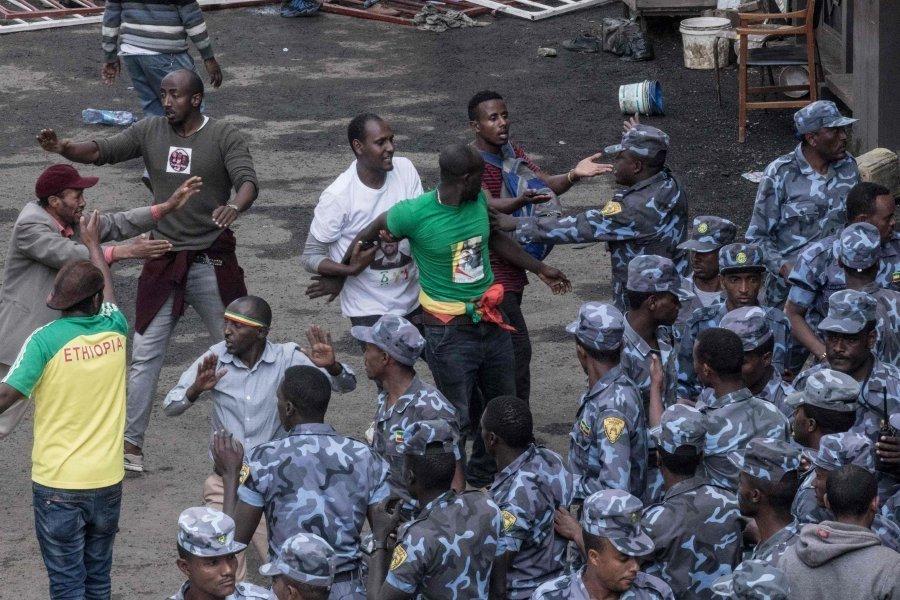 Ethiopia rally blast