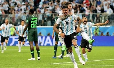 Nigeria Argentina match