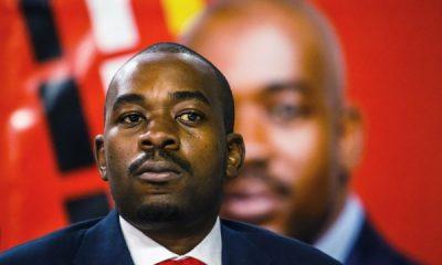 Opposition leader Nelson Chamisa