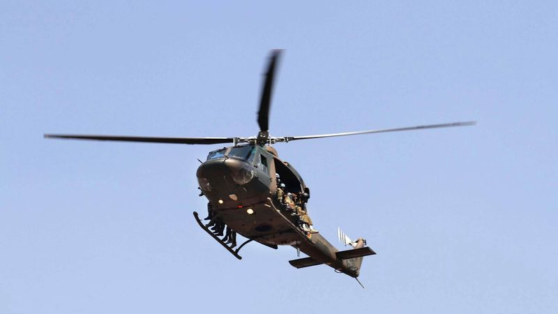 Zimbabwe Military Helicopter