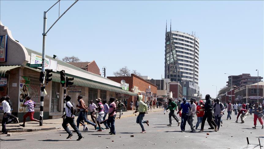 Zimbabwe Shut down