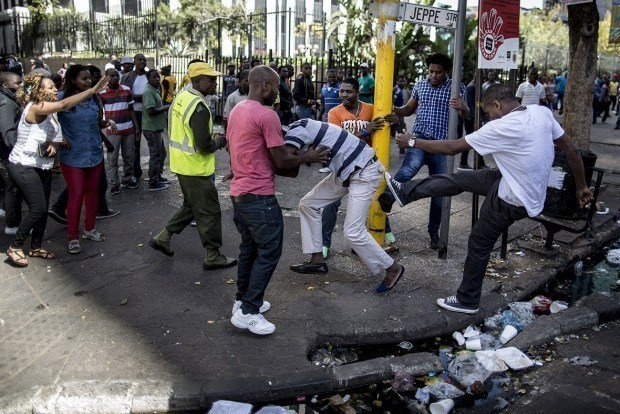 South Africa Xenophobia