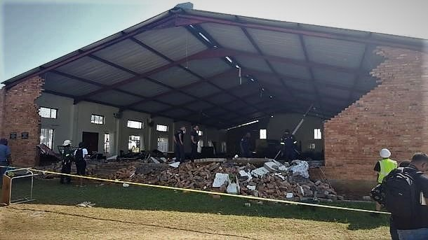 Pentecostal Holiness Church collapse