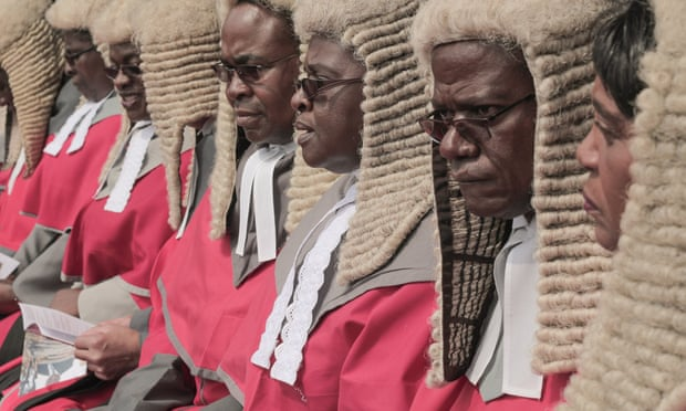 Zimbabwe Judges Wigs