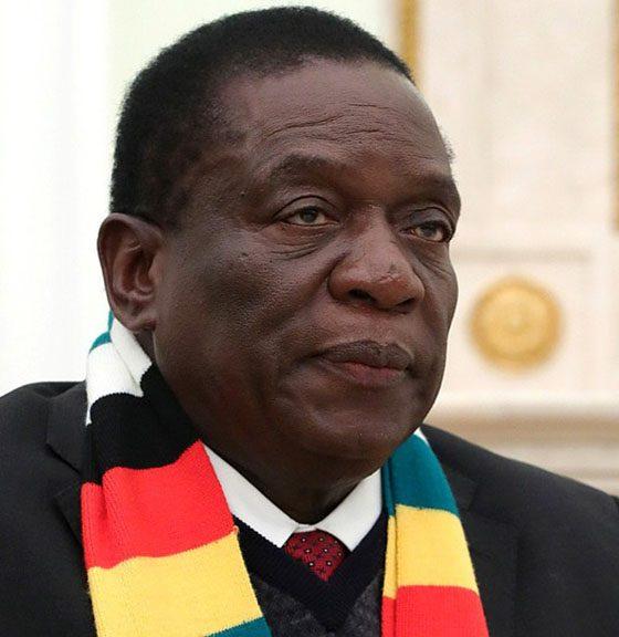 Emmerson-Mnangagwa-Zimbabwean President