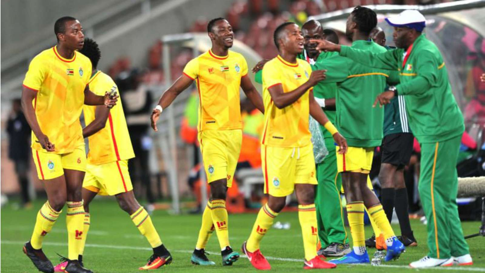 Zimbabwe Warriors AFCON 2019 Team
