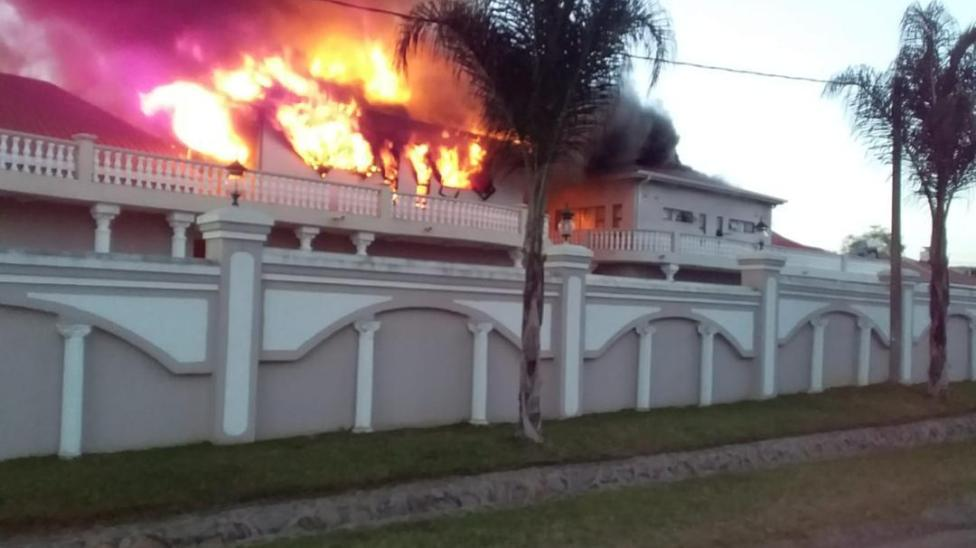 Prophet Magaya Yadah Hotel On Fire
