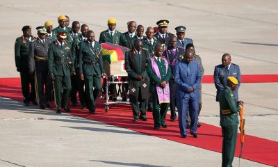 Robert Mugabe's body