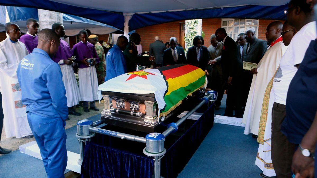 Robert Mugabe Burial