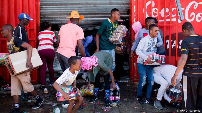 Johannesburg Xenophobic Violence